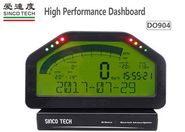 ABS Material Race Car Dashboard Digital LCD Display DO904 6.5 Inch Full Sensor Kit