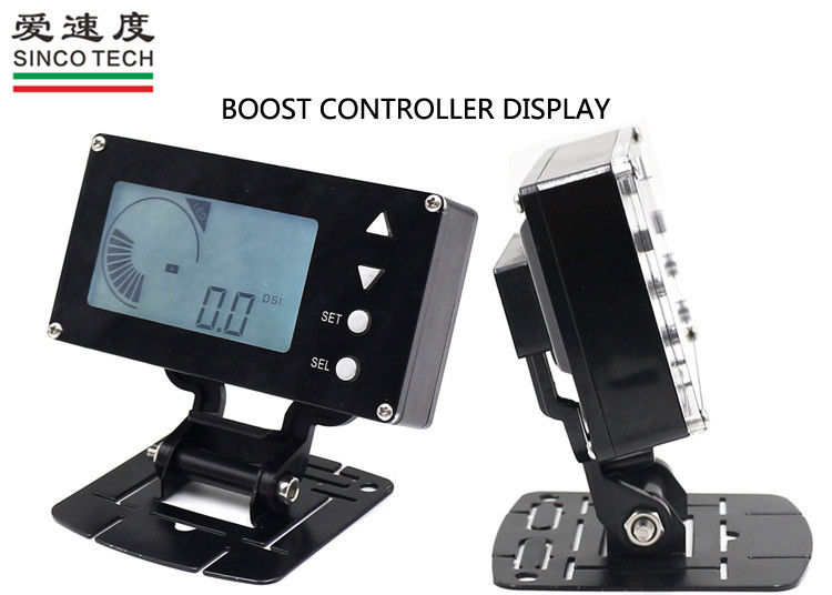 Universal LCD Dashboard For Cars , Custom Automotive Gauges 2.5 Inch Boost Controller